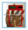 transparent solar calculator for promotion gift