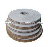 Resealable packaging tape for OPP bag seal