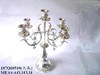 Silver plated metal Candle Holder