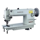 HT-0302 Heavy Duty Top and Bottom Feed Lockstitch industrial Sewing Machine for leather