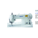 HT-0302  Single Needle High Speed Top And Bottom Feed Lockstitch Heavy Duty Leather Sewing Machine