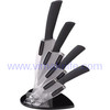 4pcs ABS handle ceramic kitchen knives set / Acryl holder