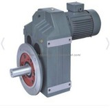 F series parallel shaft helical gear reducer speed reducer gearbox