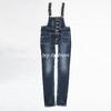 2013 Fashion College Style Slim Strap Women Denim Jeans