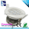 Surface Mounted 10w Led Ceiling Light/Led Ceil Light/Ceiling Led Light High Power Factor With CE,ROHS