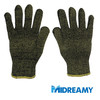 Kevlar/Aramid Fibre Stainless Steel Cut Resistant Knit Gloves
