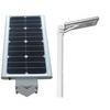 integreted solar street light with human induction