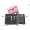 Cosmetic Brush & Manicure Set With Hand Bag Style