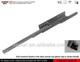 No.36 Quadro V6 concealed runner /concealed drawer slides with silent system& adjustable function/concealed slides