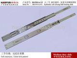 No.41 36mm height full extension soft close ball bearing slides/ soft closing telescopic drawer slides