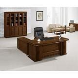 office furniture table mdf painting withlreturen & mobile pedestal