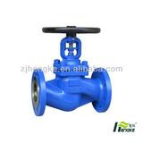 cast steel bellows globe valve