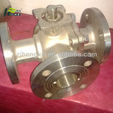 L pattern 3way ball valve