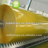 [Manufacturer]bopp jumbo rol tape yellowish tape ,Bopp adhesive packaging tape jumbo roll