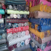 stock lot printed cotton flannel fabric  150gsm