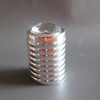 Aluminum perfume cap FEA15mm with diamond