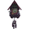 wooden quartz cuckoo clock