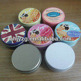 make up Round Tin Can