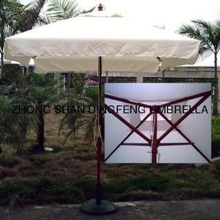 Square Wooden Outdoor Patio Garden Umbrella/Garden Umbrellla