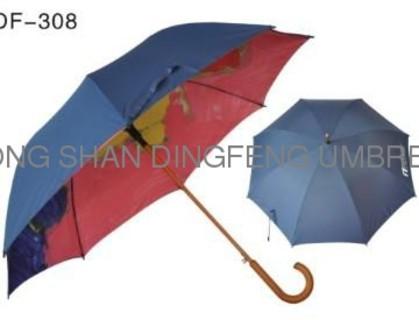 Cartoon windproof outdoor double layer golf umbrella