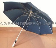 Promotional walking stick straight umbrella