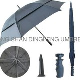 windproof promotion double layer golf umbrella