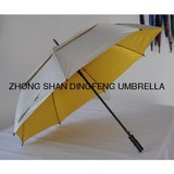 auto umbrella/double layer golf umbrella wind proof