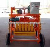 POPULAR!!! Mobile QMR4-45 fly ash / cement manual brick making machine price