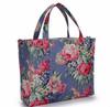 canvas designer bag tote bag Floral bag Pastoral bag kis lady bag ton