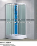 China Product!! glass sliding door steam shower cabin/wheels for shower room