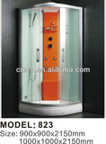 High quality !!! With frame shower cabin /steam shower cabinet
