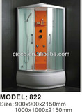 High quality !!! Computer control shower cabin/tempered glass for shower cabin822