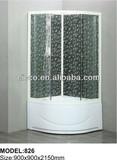 Factory Product !!economical shower cabin/Aluninum frame shower cabin