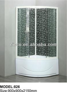 Factory Product !!economical shower cabin/Aluninum frame shower cabin