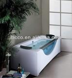 china jacuzzi manufacturer!! jet massage shower/corner bathtub