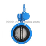 Underground execution double flange butterfly valve