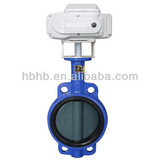Electric Actuator wafer butterfly valves Dn100