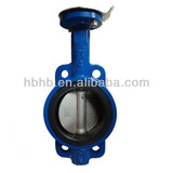 Ductile Iron Hand Lever Wafer Butterfly Valve