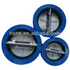 cast iron double plate check valve from china