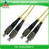 FC-FC duplex 9/125 Singlemode PVC 3.0mm Fiber optic patch cord