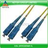 SC/PC-SC/PC Duplex 3.0mm PVC SM Fiber optic patch cord