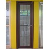 Aluminum Vertical Hinged Door with Clipper-Built Frame