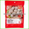 Plastic packaging bag for frozen food