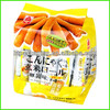 Plastic packaging bag for brown rice roll