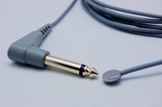 Reusable Temperature probe/YSI400/Adult/Skin/6.3 MONO PLUG/3.0M