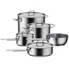 Gourmet 9-pc. Stainless Steel Triply Cookware Set