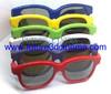 Linear Polarized plastic 3D glasses for children