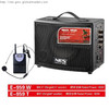 portable speaker With USB/SD/DVD audio/rechargeable 12V DC batter