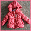 wholesale baby clothes latest design bubble hooded baby girls winter jacket tc11241