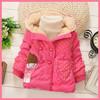 baby clothing wholesale korean style polka dot print little girls clothes winter tc11248